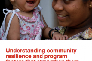 Understanding community resilience and program factors that strengthen them: A Comprehensive Study of Red Cross Red Crescent Societies Tsunami Operation