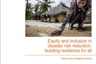 Equity and Inclusion in Disaster Risk Reduction: Building Resilience for All