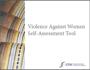 Violence Against Women Assessment Tool ICRW