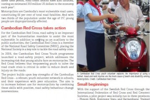 Youth Volunteers Champion Road Safety in Cambodia