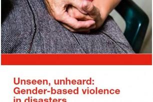 Unseen, Unheard: Gender-based violence in disasters – global study (2015)