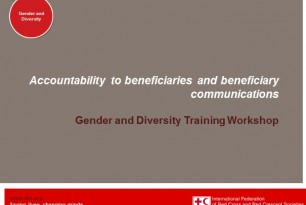Presentation: Accountability to Beneficiaries and Beneficiary Communications