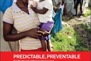 Predictable, Preventable: Best Practices for Addressing Interpersonal and Self-Directed Violence during and after Disasters