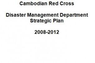 Disaster Management Department (DMD) Strategic Plan 2008 – 2012