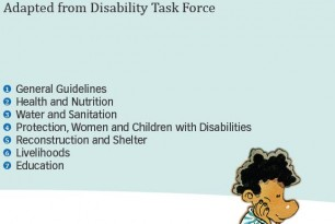 Disability Checklist for Emergency Response: Adapted from Disability Task Force