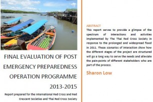 Final evaluation of post emergency preparedness operation programme