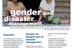 Gender and Disaster Management