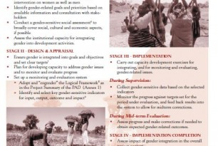 Gender and Monitoring Evaluation Tool Kit: Excerpt