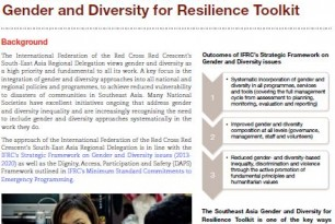 Gender and Diversity in Resilience Toolkit Brief