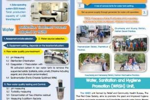 Information Brochure on Water Purification Unit [Thai & English]