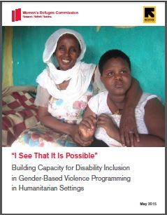 Building Capacity for Disability Inclusion in Gender-Based Violence Programming in Humanitarian Settings
