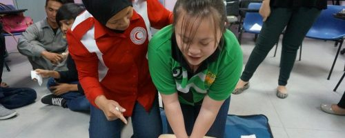 First aid training Oct 2 2014