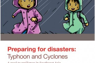 Comic Book: Preparing for disasters – Typhoon and Cyclone