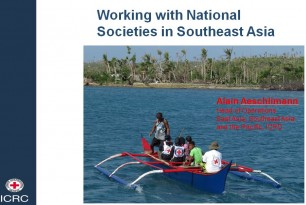 Working with National Societies in Southeast Asia