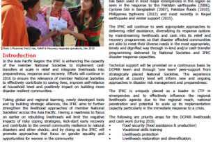 Asia Pacific Regional approach: Livelihoods & Cash Transfer Programming (Draft)