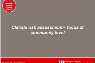 Assessing Climate Risks at Community Level