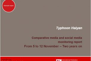 Comparative media and social media monitoring report – Typhoon Haiyan – 2 years on