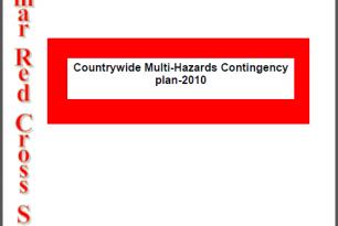 Myanmar Red Cross Society Multi-Hazards Contingency Plan 2010