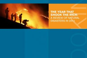 The Year that Shook the Rich: A Review of Natural Disasters in 2011 – External References