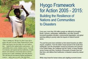 Hyogo Framework for Action 2005 – 2015: Building the Reslience of Nations and Communities to Disasters – External References