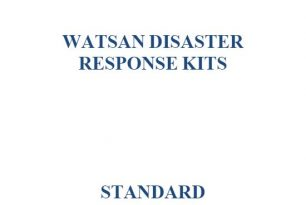 WatSan Disaster Response Kits Standard Operating Procedures (2010) – Guidelines