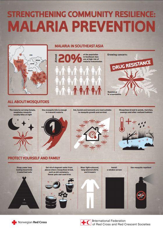Malaria infographic - Infographics