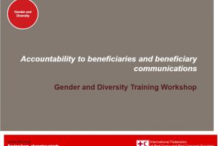 Accountability to Beneficiaries and Beneficiary Communications and Gender and Diversity