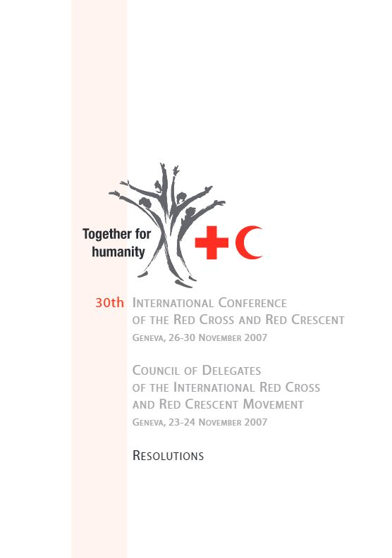 IFRC 30th Resolution 2007