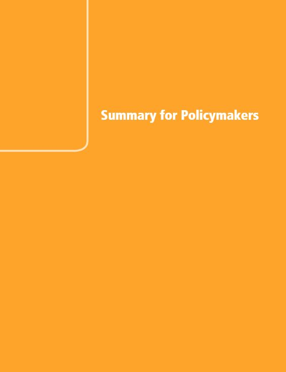 Summary for policymakers - Climate change 2014, Mitigation of Climate Change (2014) - IPCC