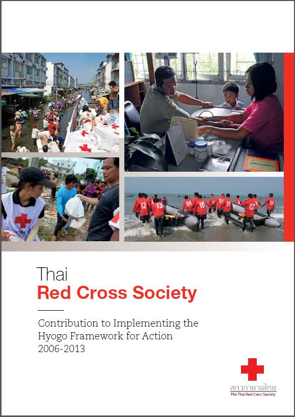 Thai Red Cross Society Contribution to Hyogo 2006-2013