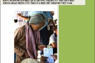 Report of assessment of effectiveness of the cash transfer programming (CTP) in relief activities of Viet Nam Red Cross