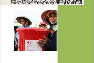 Report of assessment of household kits in emergency operations by Viet Nam Red Cross