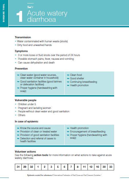 ECV Disease Tools - Epidemic Control for Volunteers (ECV)