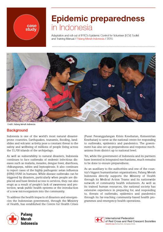 Indonesia Epidemic Preparedness case study - Epidemic Control for Volunteers (ECV)