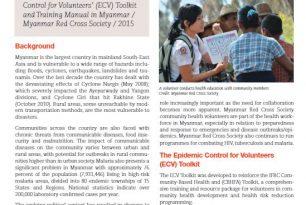 Myanmar Epidemic Preparedness case study – Epidemic Control for Volunteers (ECV)