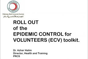 Rollout of the Epidemic Control for Volunteers Toolkit for Pakistan Red Crescent – Epidemic Control for Volunteers (ECV)