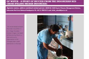 Community Ownership in the Flow of Water – Indonesian Red Cross (Palang Merah Indonesia) – Stories from the Field