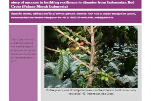 Planting Mitigation, Harvesting Coffee  – Indonesian Red Cross (Palang Merah Indonesia) – Stories from the Field
