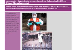 Avian Influenza Awareness Campaign  – Indonesian Red Cross (Palang Merah Indonesia) – Stories from the Field