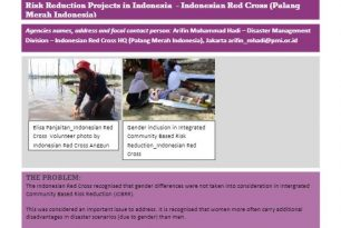 Integrating Women into Community-Based Risk Reduction Projects in Indonesia  – Indonesian Red Cross (Palang Merah Indonesia) – Stories from the Field