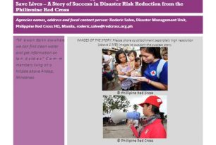 Success Story – Philippines Red Cross – How Communication can Save Lives in the Aftermath of Typhoon Bopha