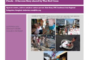 Success Story: Resilience and Solidarity in Thailand's 2011 Floods – Thai Red Cross Society