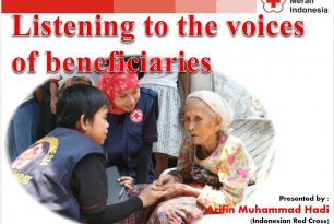 Listening to the voices of beneficiaries – Community Engagement