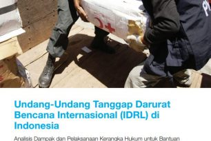 Law and Disaster Risk Reduction in Indonesia Snapshot [Indonesian] – Disaster Law