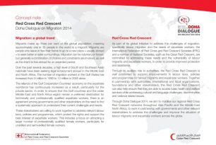 RCRC Doha Dialogue on Labor Migration 2014: Concept note