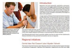 Red Cross Red Crescent Migration Initiative – Migration