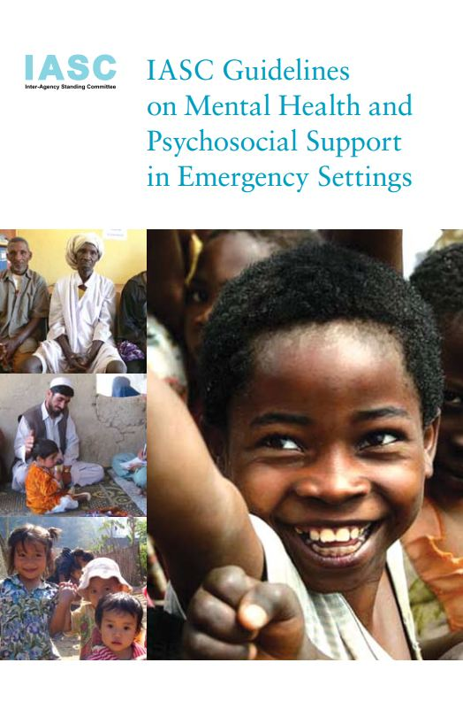 IASC Guidelines on Mental Health and Psychosocial Support - Psychosocial Support (PSS)