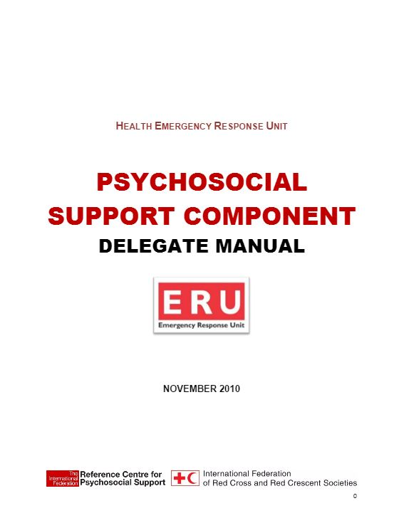 Psychosocial Support Component: Delegate Manual - Psychosocial Support (PSS)