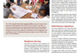 Case study: Disaster risk reduction field sessions in Southeast Asia