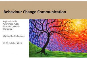 Introduction to Behavior Change Communication (BCC)